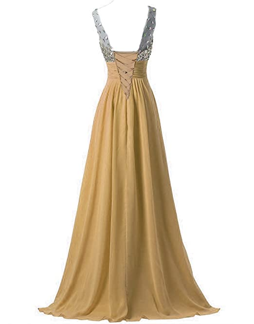WAWALI Chest Crystal Prom Dresses Evening Party Gowns Straps: Amazon.co.uk: Clothing