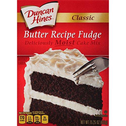 (Duncan Hines Classic Cake Mix, Butter Fudge, 15.25)