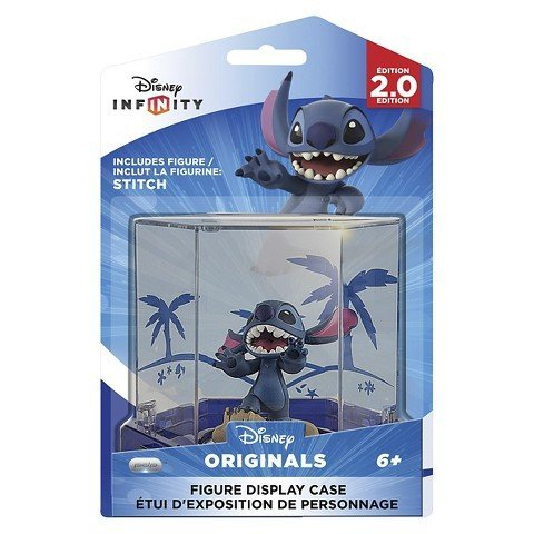 Exclusive Disney Infinity (2.0 Edition) Themed Display Case with Stitch Figure (Disney Infinity Figure Display Case 3 Pack)