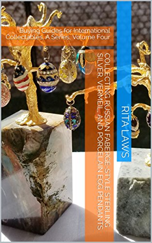 Style Pendants Faberge Eggs Faberge - Collecting Russian Faberge-Style Sterling Silver, Vermeil, and Porcelain Egg Pendants: Buying Guides for International Collectables, A Series, Volume Four