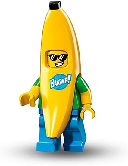 New Lego Banana Suit Guy Minifigure from 71013 Series 16