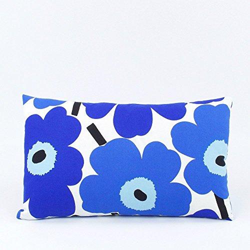 marimekko-popping-poppies-floral-decorative-handmade-lumbar-pillow-cover-12x20-reversible-blue-chloe