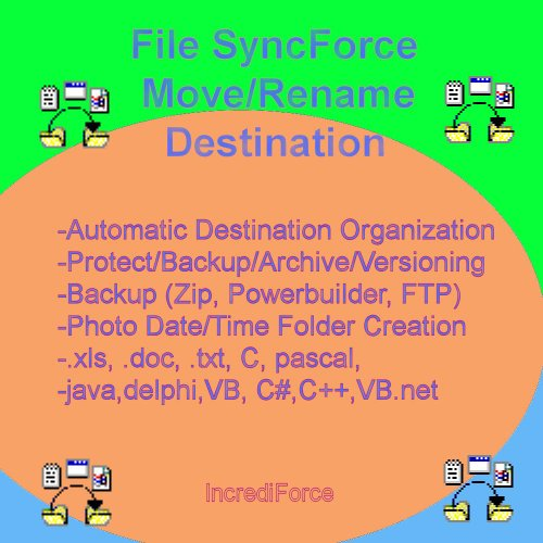 File SyncForce Dest Move/Rename [Download] by IncrediForce