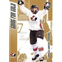 Danielle Goyette Hockey Card 2006 ITG Going For Gold #13 Danielle Goyette