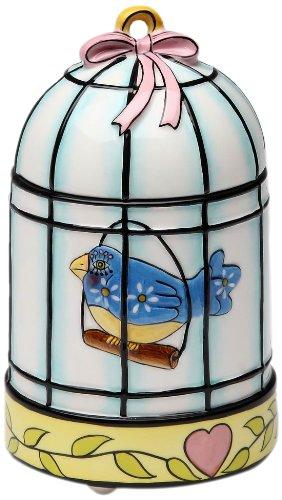 Apple Votive Holder - Appletree Design Flights of Fancy Bird Votive Candle Holder, 5-Inch Tall, Decorative and Functional