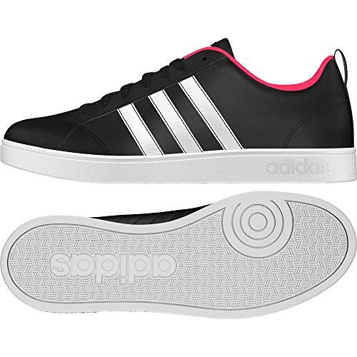 Mujer Pink Para Negro ftwr shock Adidas Zapatillas De Vs Tenis Black Core White Pink core Advantage XYWYZ04Ra