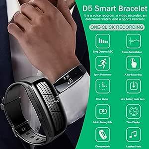 RONSHIN D5 Smart Bracelet - Reloj Inteligente con bolígrafo de ...