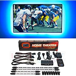 LEDGlow Million Color Home Theater LED Accent Lighting Kit - 30 Ultra-Bright SMD LEDs - Remote Control