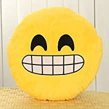 Cheese Smile_32cm Large Lovely Soft Cushion Pillow Stuffed Plush Doll (Us Seller)