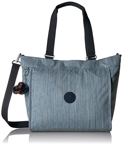 New Shopper Tote - Kipling New Shopper Medium Solid Tote, Indigo Blue