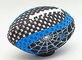 Fun Gripper Grip Zone 8.5 Spider (Blue) Football By: Saturnian I
