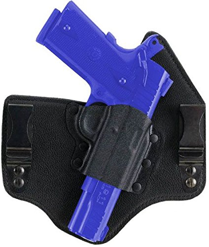 Galco Pistol Holsters (Galco KT228B Kingtuk Inside the Waistband Gun Holster for Glock 21, Right, Black)