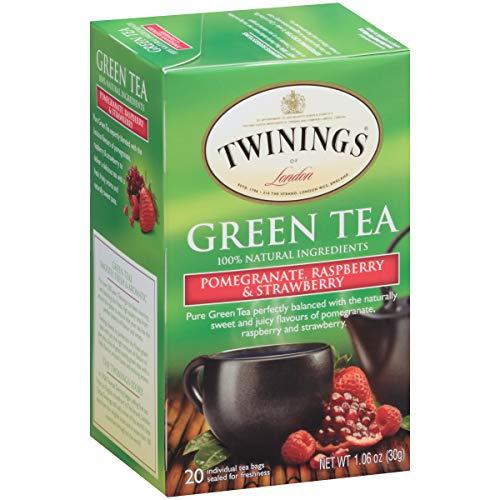 (Twinings of London Tea (Pomegranate Raspberry & Strawberry 20 ct (4 pack)))
