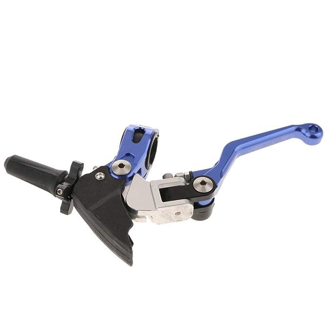 Homyl 1 pieza Palanca de Embrague de Manija plegable Accesorios de Motocicleta Bici - Azul: Amazon.es: Coche y moto