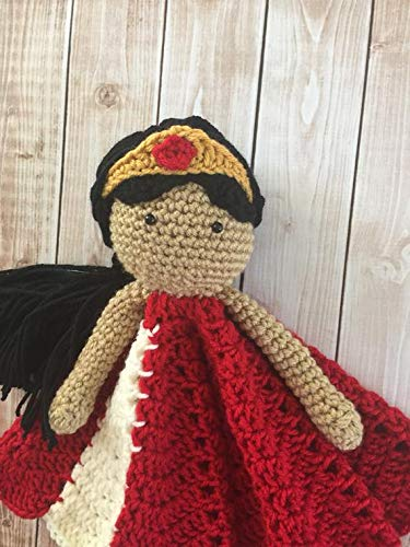 Princess Elena of Avalor Inspired Lovey// Security Blanket// Soft Toy Doll// Plush Doll// Stuffed Toy// Amigurumi Doll// Baby Doll MADE TO ORDER