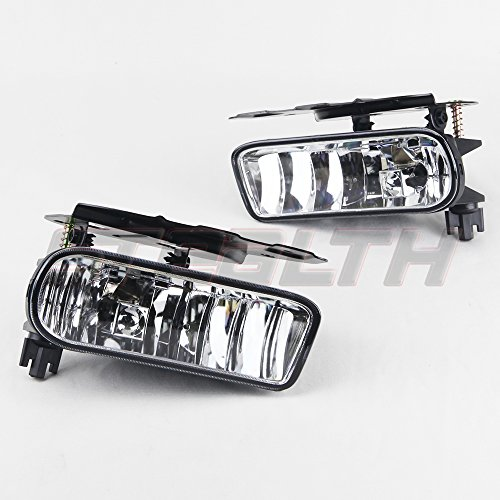 STEALTH STF0387-C 02 06 Cadillac Escalade Fog Light OEM FIT Clear Lens