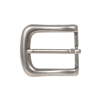 BBBelts Men Single Prong Antique Silver Square Horseshoe Buckle For 1-1//8 Belts