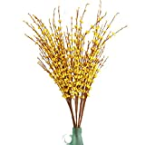Misswarm 10 pieces of Jasmine artificial flowersArtificial for winter and spring decoration
