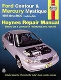 Ford Contour & Mercury Mystique, '95'00 (Haynes Repair Manuals)