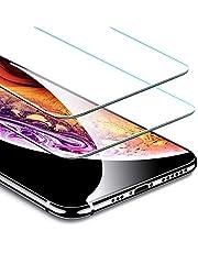 "ESR Protector Pantalla para iPhone XS/X [2 Piezas] [Kit de Instalación] [Garantía de por Vida] Cristal Templado 9H Dureza [3D Touch Compatible], Anti-Huella para Apple iPhone X/iPhone XS de 5.8"""