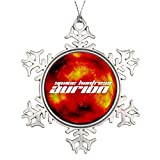 Christmas Snowflake Ornaments Tree Branch Decoration Official SPACE HUNTRESS AURION Jumbo Promo Thanksgiving Snowflake Ornaments
