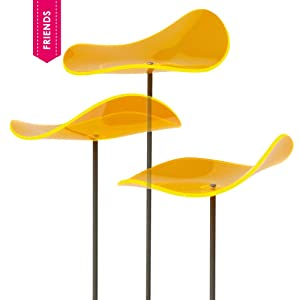 Cazador-del-sol - Suncatcher Set of 3 - Lucy - Yellow