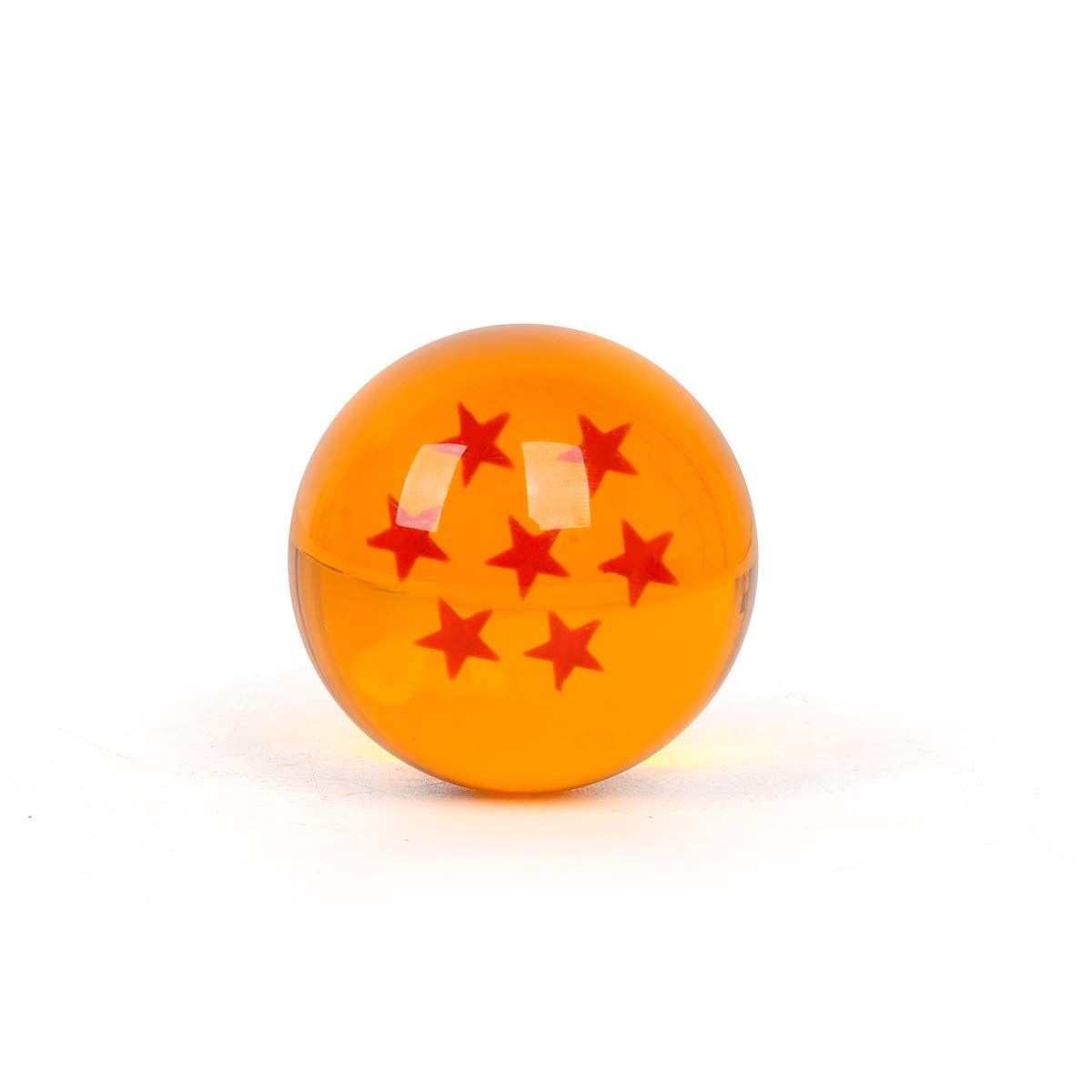 WeizhaonanCos Unisex Acrylic Resin Transparent Stars Balls Glass Ball Dragon Ball Cosplay Props Kids Play Toy Gift Set of 7pcs 43mm/1.7 in in Diameter (Orange) by WeizhaonanCos (Image #7)