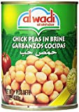 Al Wadi Chick Peas in Brine, 14-Ounce (Pack of 12)