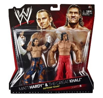 WWE Ultimate Rivals Randy Orton vs. John Cena Figure 2-Pack Series #8 by Mattel
