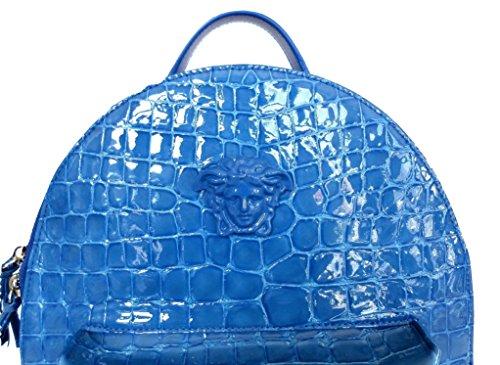 Medio Turchese Mochila Azul Para Versace Blu Mujer Bolso wA0SgAxqR