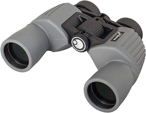 Levenhuk Sherman PLUS 8×42 Wide Angle Binoculars with Porro Prisms and Waterproof Body