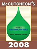 Mccutcheon's 2008 Functional Materials : North American Edition, Michael Allured, 193343029X