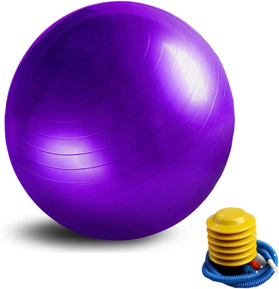 YunNasi - Balón de Yoga Profesional con Bomba para Mujer, Pilates ...