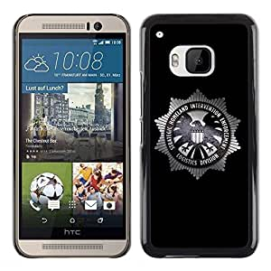 LECELL -- Funda protectora / Cubierta / Piel For HTC One M9 -- Strategic Homeland Intervention Enforcement --