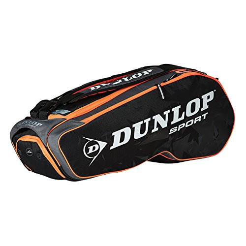 Dunlop Performance 8 Racketbag Black/red Thermobag Dunlop Tennis Bags