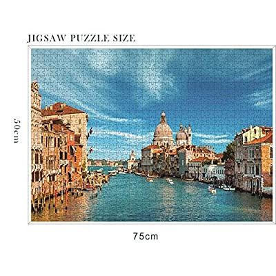 Jigsaw Puzzle 1000 Pieces for Adults Kids - Home Decoration Puzzle Frame Children Floor Jigsaw Puzzle(29.52 x 19.68 Inch): Toys & Games