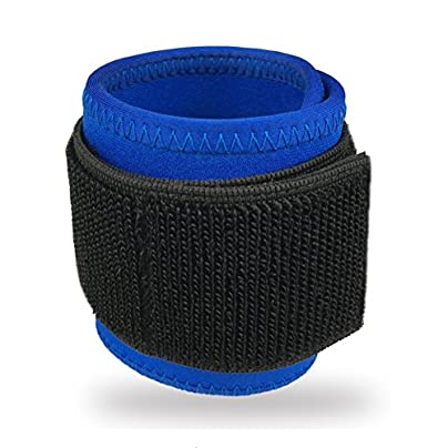 Wrist Brace Compression Wrist Support Wrap for Pain Relief amp Promotes Healing Adjustable Sport Wristbands for Volleyball Tennis Basketball Blue pcs Estimated Price £8.36 -