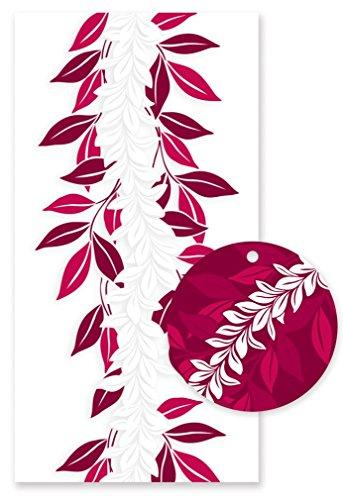 Hawaiian Candy Lei Kits 6 Pack Maile Maroon ()