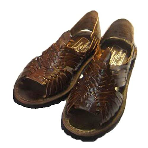 20f51239446e well-wreapped MEXICAN SANDALS-Men s Genuine Leather Quality Handmade Sandals  Huarache