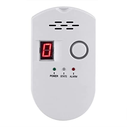 Plug-in Digital Gas Detector/Gas Alarm Detector/Gas Leak Detector High Sensitivity LPG LNG Coal Gas Leak Detector Alarm Monitor Alarm Sensor - - Amazon.com