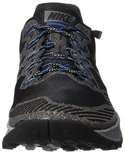 Nike Air Zoom Wildhorse 3 GTX, Scarpe da Corsa Uomo Grigio (Schwarz/Dunkel Grau -Fotoblau-wolfgrau)