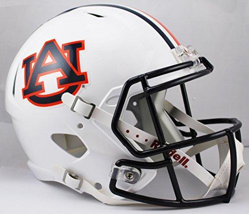 NCAA Auburn Tigers Full Size Speed Replica Helmet, Orange, Medium by Riddell