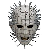 Ghoulish Productions Men's Monster Horror Hellraiser III Pinhead Mask Halloween Costume Accessory