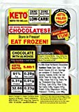 xylitol chocolate syrup - KETO FAT BOMB DARK CHOCOLATES with Almonds. LOW CARB! GLUTEN FREE! RAW VEGAN! PALEO! NO SUGARS ADDED! Travel Snack! KETOGENIC! (6 paks of 6 bombs)