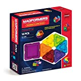 Magformers Clear Rainbow Solids 14 Piece Set