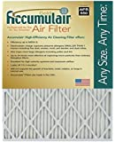 Accumulair Gold 17.5x23.5x1 (17.1x23.1) MERV 8 Air Filter/Furnace Filters (4 Pack)