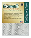 Accumulair Gold 15x15x4 (Actual Size) MERV 8 Air Filter/Furnace Filters (4 pack)