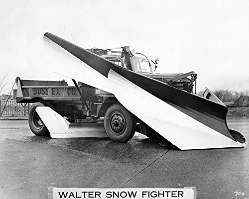 1949 Walter Sussex County Snow Plow Fighter Truck Factory ()