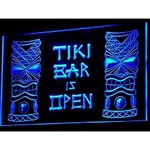 ADV PRO i573-b Tiki Bar is OPEN Mask Display NR Neon Light Sign