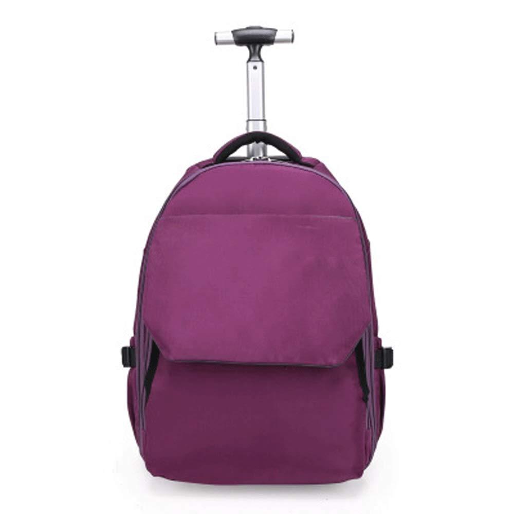5GHjkj Borsa da Viaggio Viaggio Fuori Grande Zainetto Scuola primaria e Media Anti-Usura (colore   viola, Dimensioni   M)
